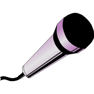 Microphone clipart instrument #7