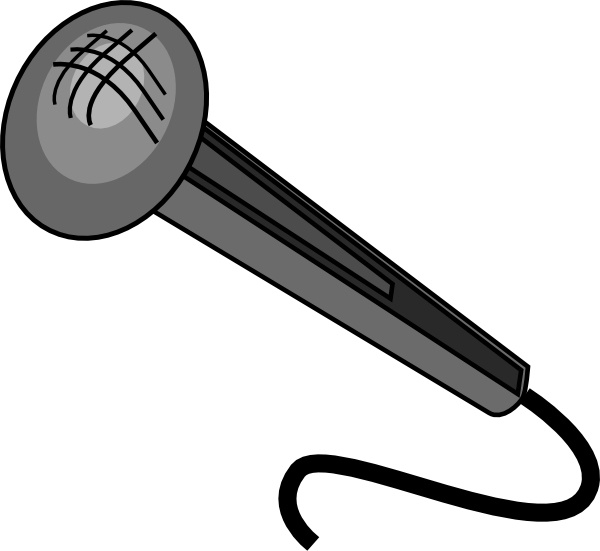 Microphone clipart mic clip Drawing Microphone clip  (