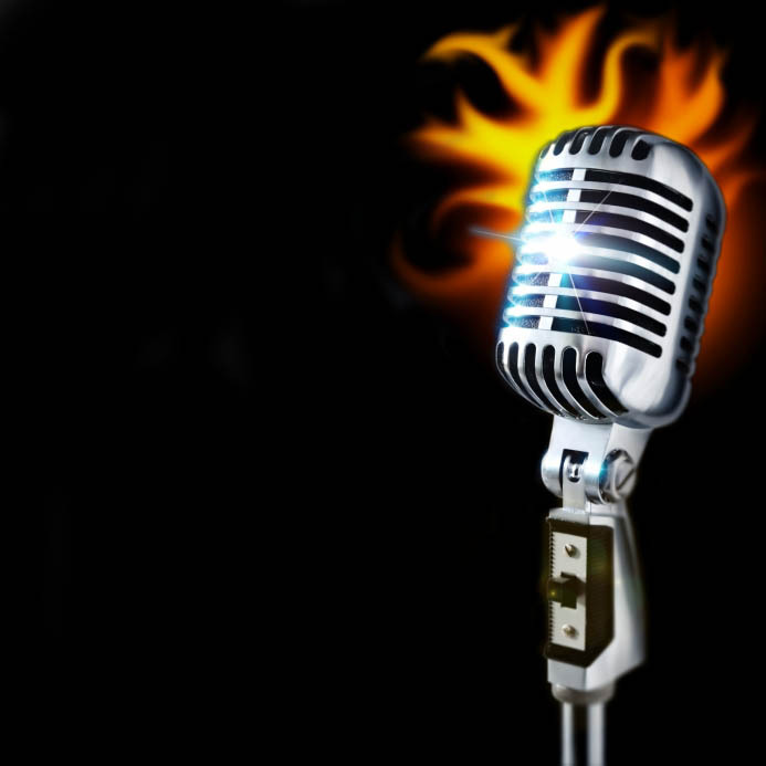 Microphone clipart on fire Of Microphone Pictures Of Clip