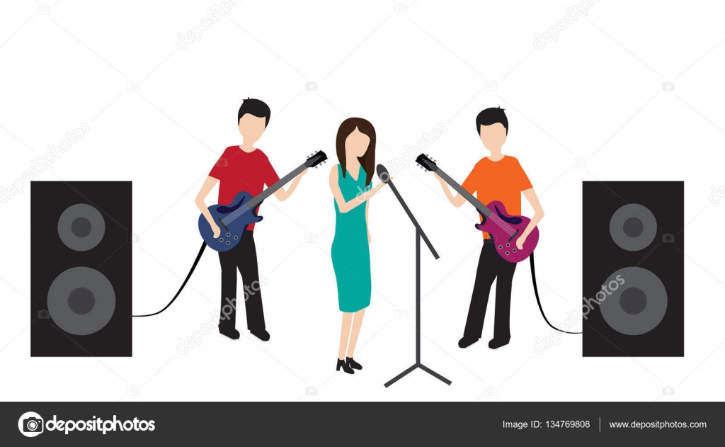 Microphone clipart pop concert Pop Stock be Isolated Isolated