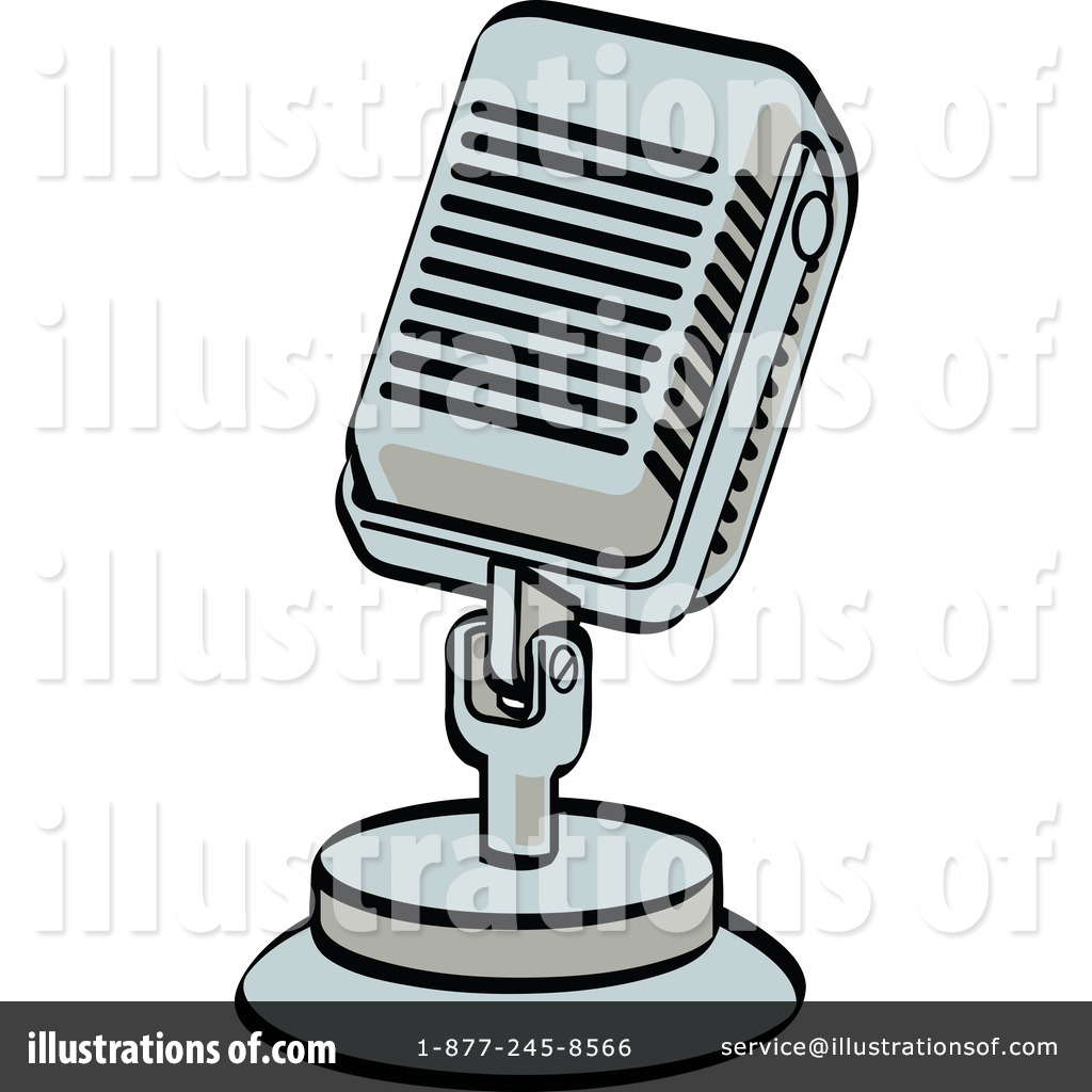Microphone clipart school announcement By Royalty Andy Microphone (RF)