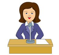 Microphone clipart school announcement Answering microphone Clip Graphics answering
