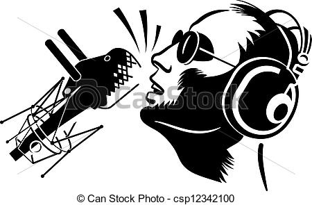 Microphone clipart solo singer Clipart  with microphone of