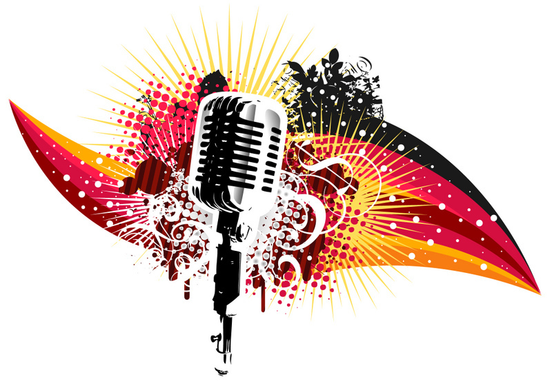Microphone clipart talent show #9