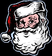 Santa clipart creepy #2