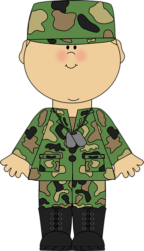 Soldiers clipart military branch Boy Army Army Art Image