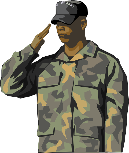 Soldier clipart transparent Free kid art Military cartoon