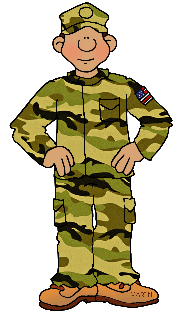 Soldiers clipart military branch Army art white Military 2