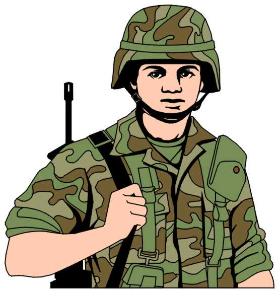 Soldiers clipart animated Military Army Gallery Individual Art