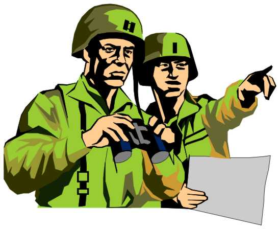 Invasion clipart indian army Clip Officers  Art Clip