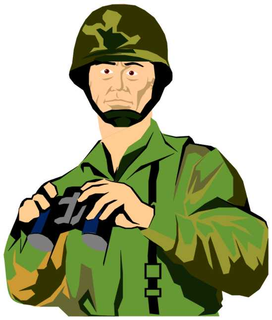 Soldiers clipart animated Clip Army Officer Art Gallery
