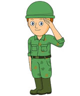 Soldier clipart Graphics Illustrations Art soldier 63