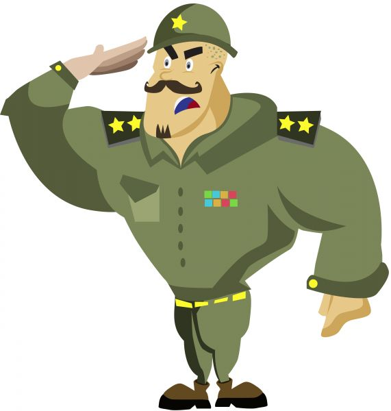 Army clipart #10