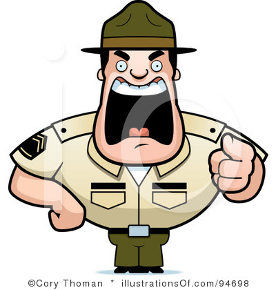 Soldiers clipart army officer Military Clipart Flag Free Art