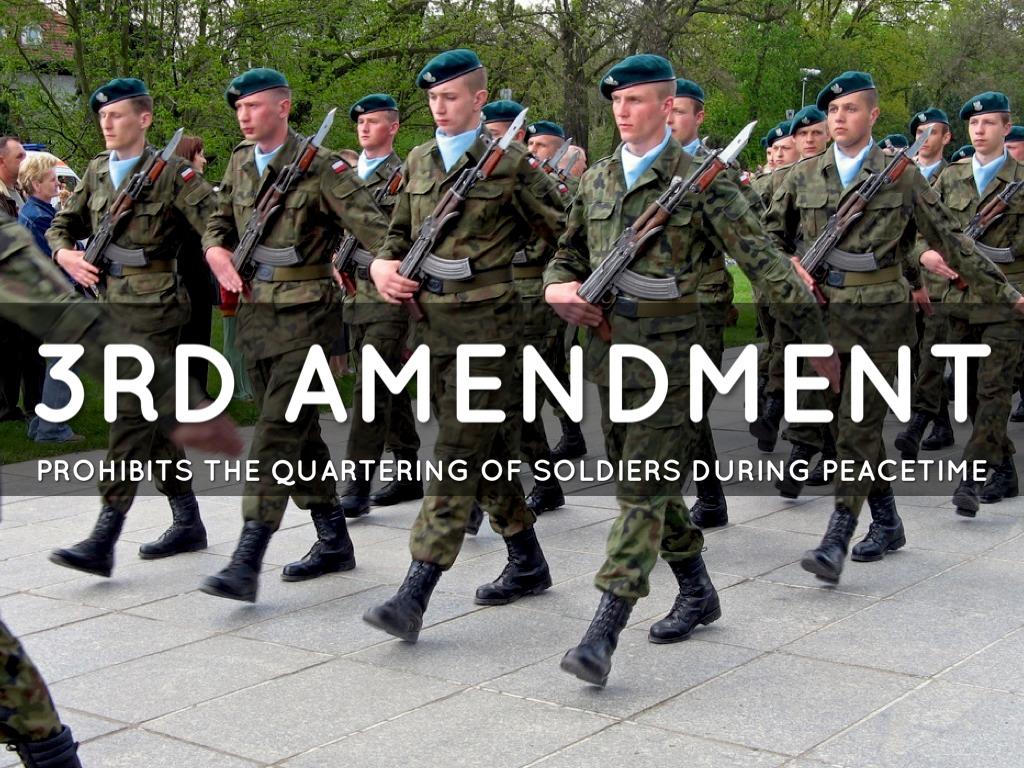 Army clipart 3rd amendment Amendment by 1st 3 Kassim