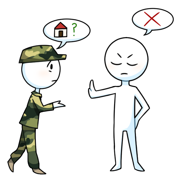 Army clipart 3rd amendment A household time war during