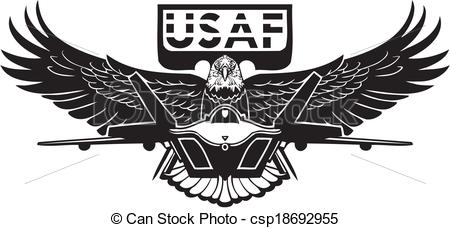 Military clipart air force Vector clipart force Art collection