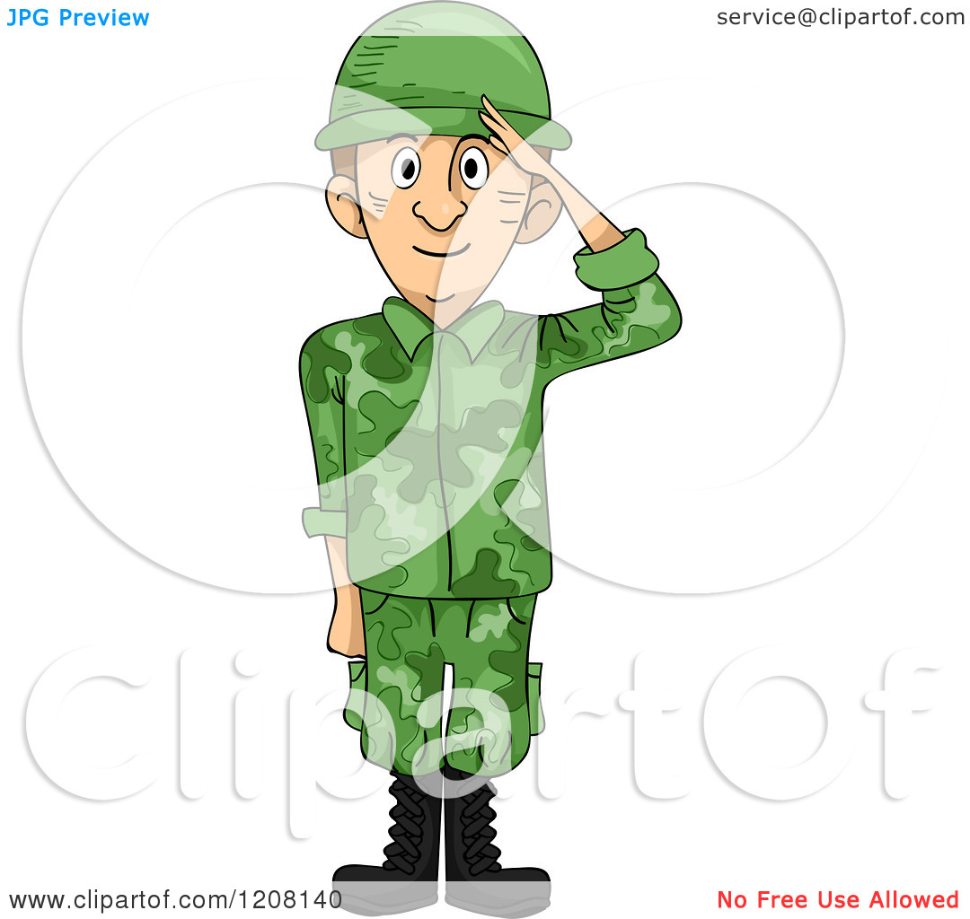 Soldiers clipart animated Clipart collection saluting Saluting download