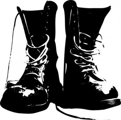 Military clipart army boots 3 Art Art Free (about
