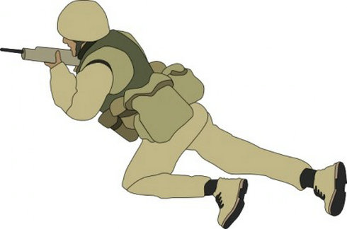 Soldier clipart indian soldier  Cartoon Cartoon Cliparts Clip