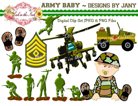 Military clipart army helicopter Digital Graphics Digital Download Graphic