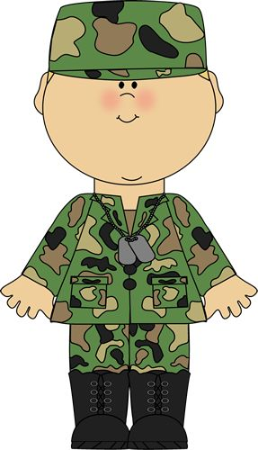 Soldier clipart comic person Pinterest on ARMY about ARMY