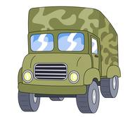 Military clipart army truck Military Clip truck Free Kb