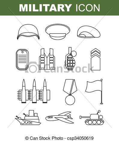 Military clipart brave soldier Of jpg Art stock Set