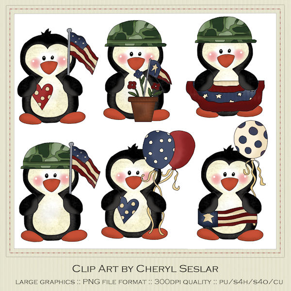 Penguin clipart country 78 Clipart military military Fans