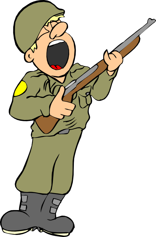 Cartoon clipart army Story clipart Adult free Army