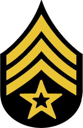 Sergent clipart Clip Clipartix military art hostted