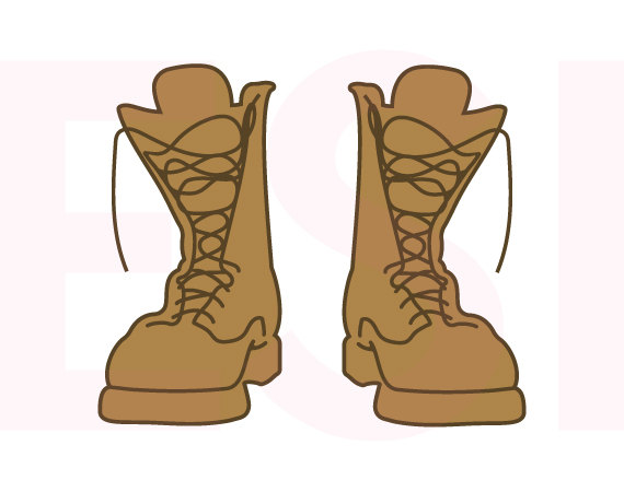 Soldiers clipart boot #1