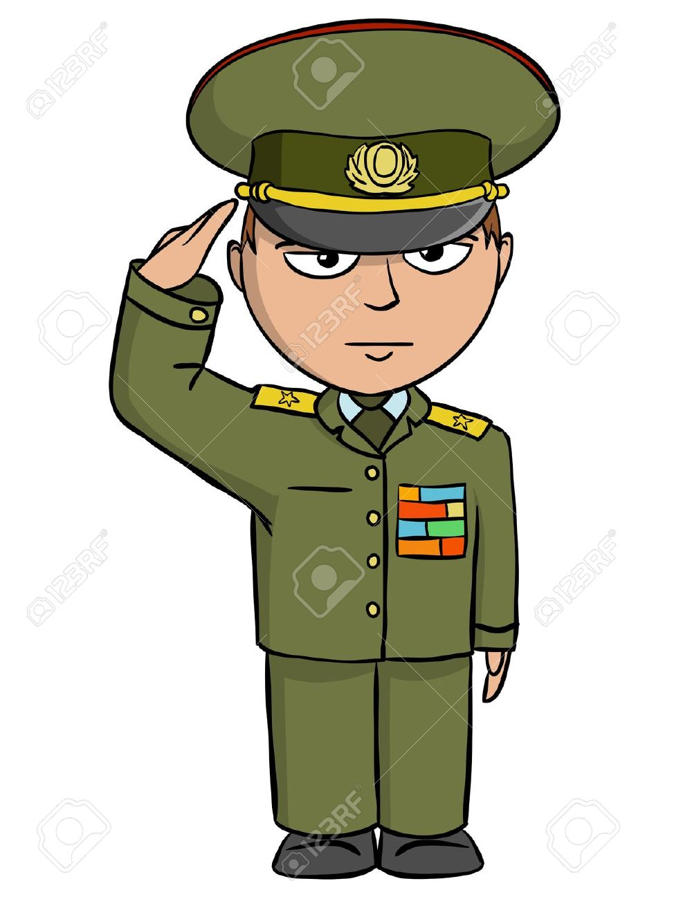 Military clipart cute Public To In Soldier Art