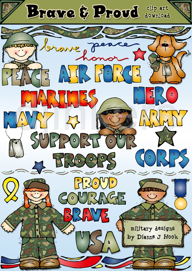 Military clipart cute Friends Clipart Download Friends Military