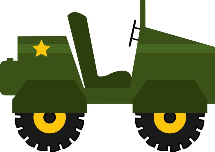 Army clipart army jeep #1