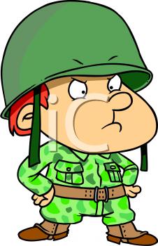 Soldier clipart cute A Little Boy military clipart