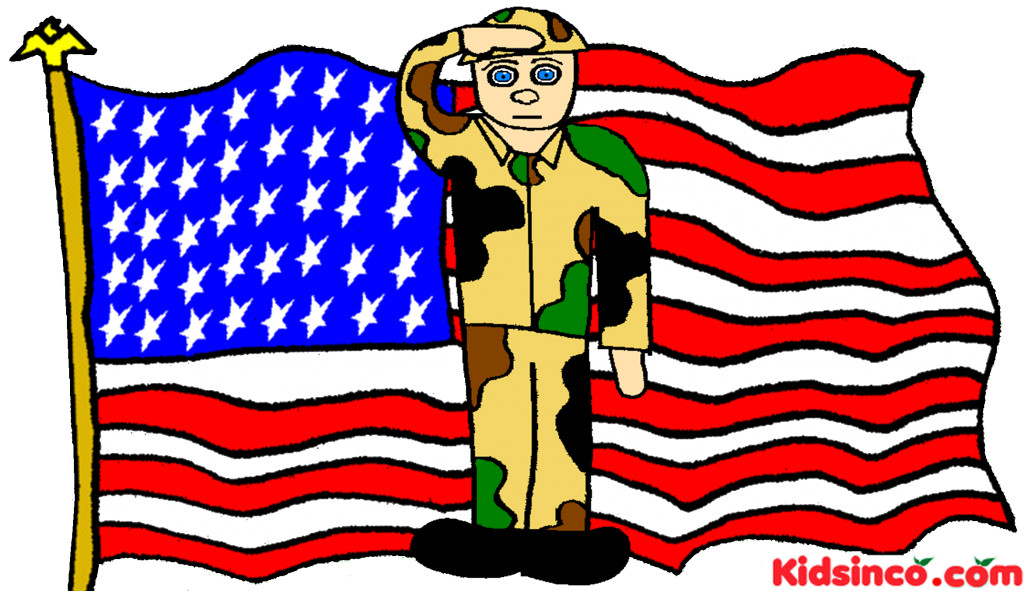 Soldier clipart american soldier Download Flag Art Soldier Clip