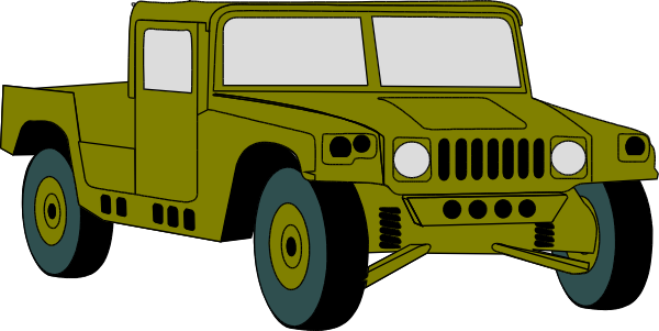 Army clipart army jeep #2