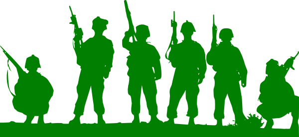 Soldier clipart indian soldier Clip Green image Toy com