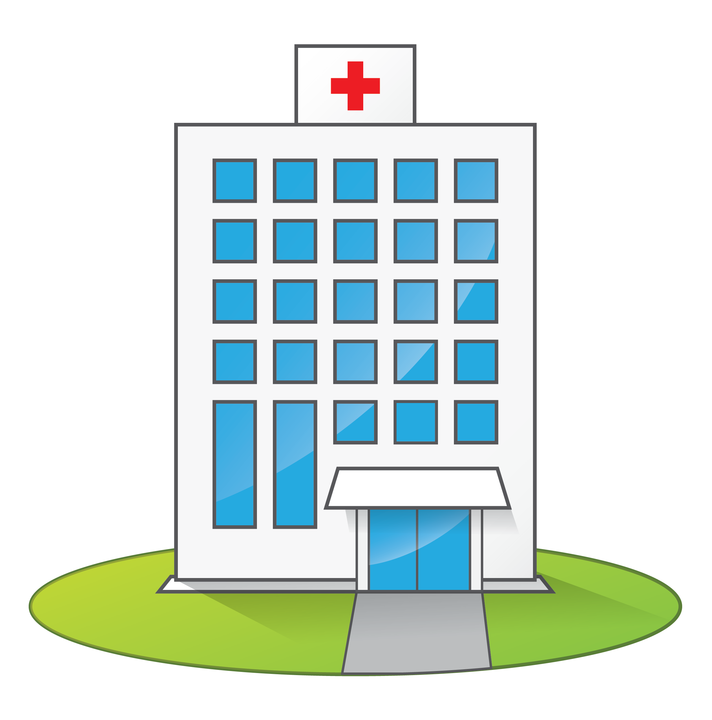 3D clipart hospital building Building collections Medical Clipart Kid