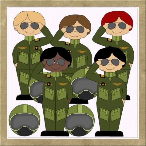 Uniform clipart armed force #9