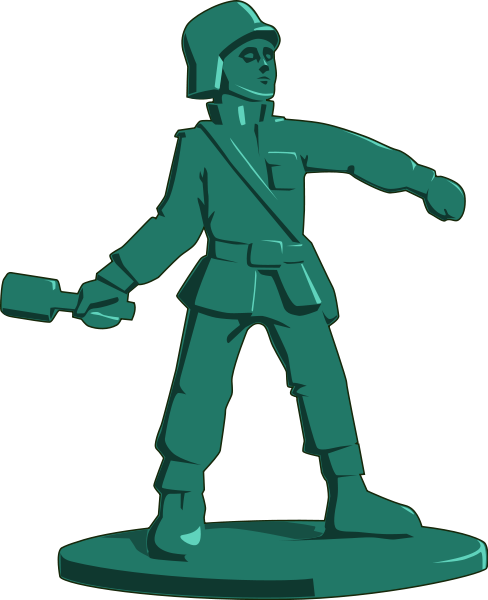Soldiers clipart army man Clip Toy clipart Cliparts Free