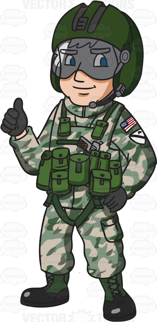 Army clipart fighter pilot #5