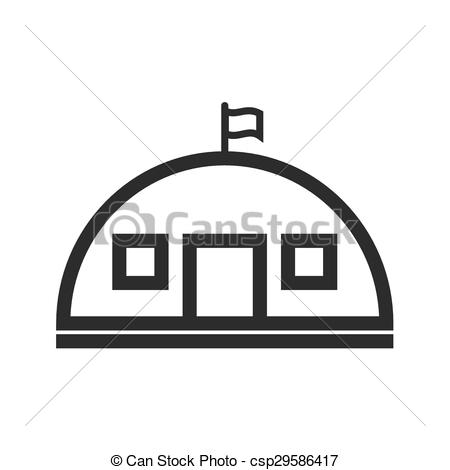Army clipart military base Military Clip  Vector csp29586417