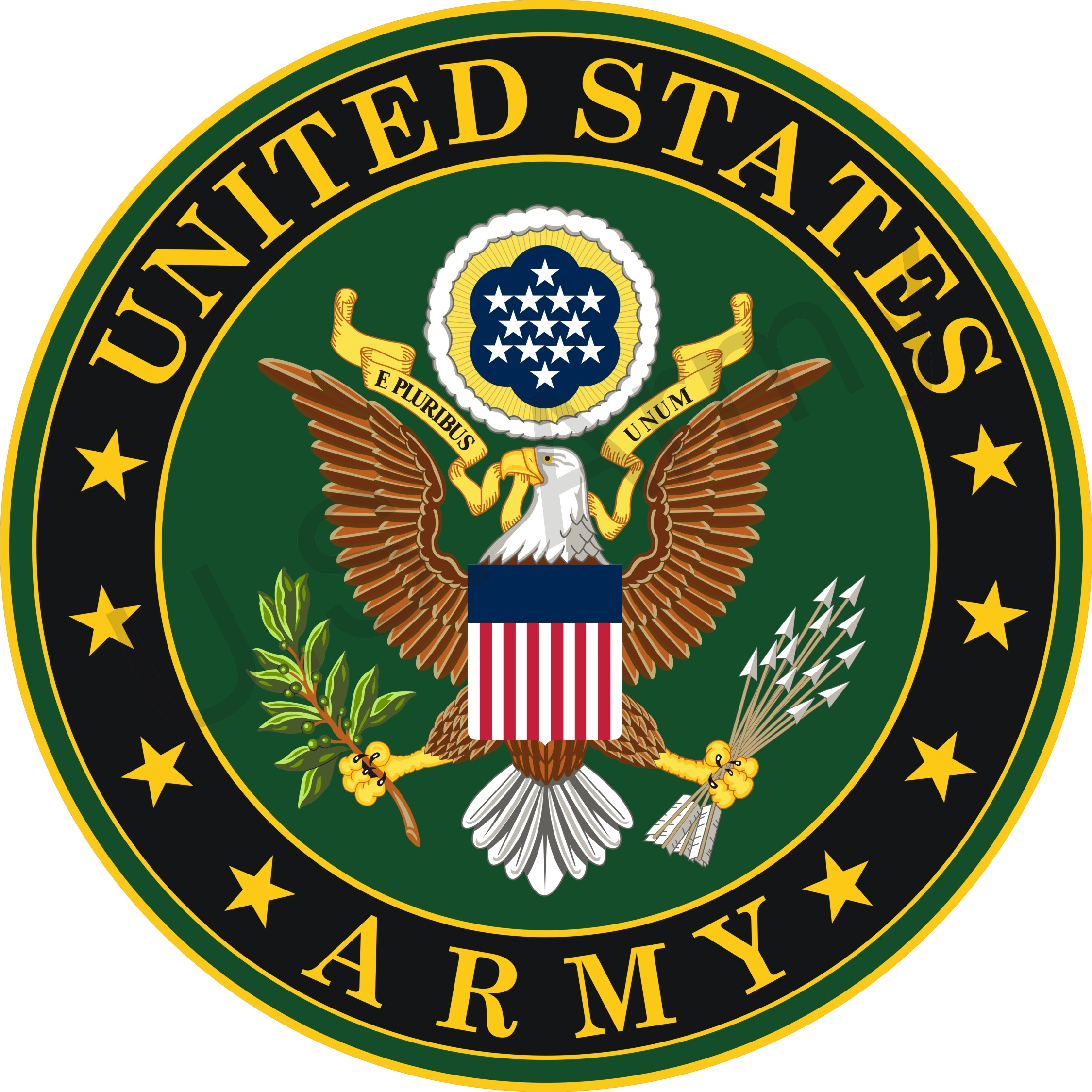 Soldier clipart military emblem Cliparts Insignia Military Army Us