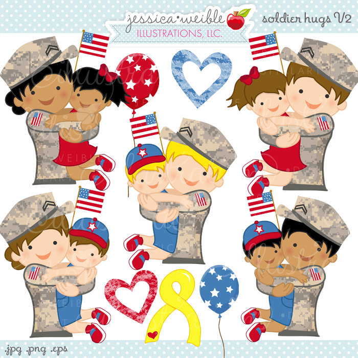 Soldier clipart cute V2 Etsy clip Clipart Use