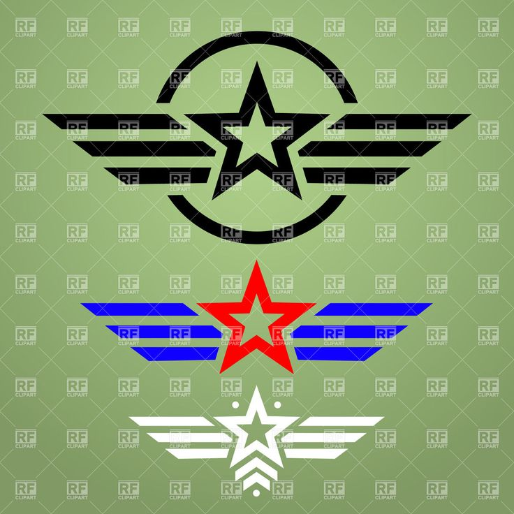 Soldiers clipart military emblem And with star military clip