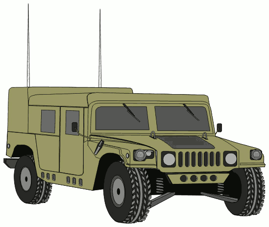 Gallery clipart military truck Military Military clip image top