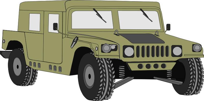 Military clipart military vehicle #12