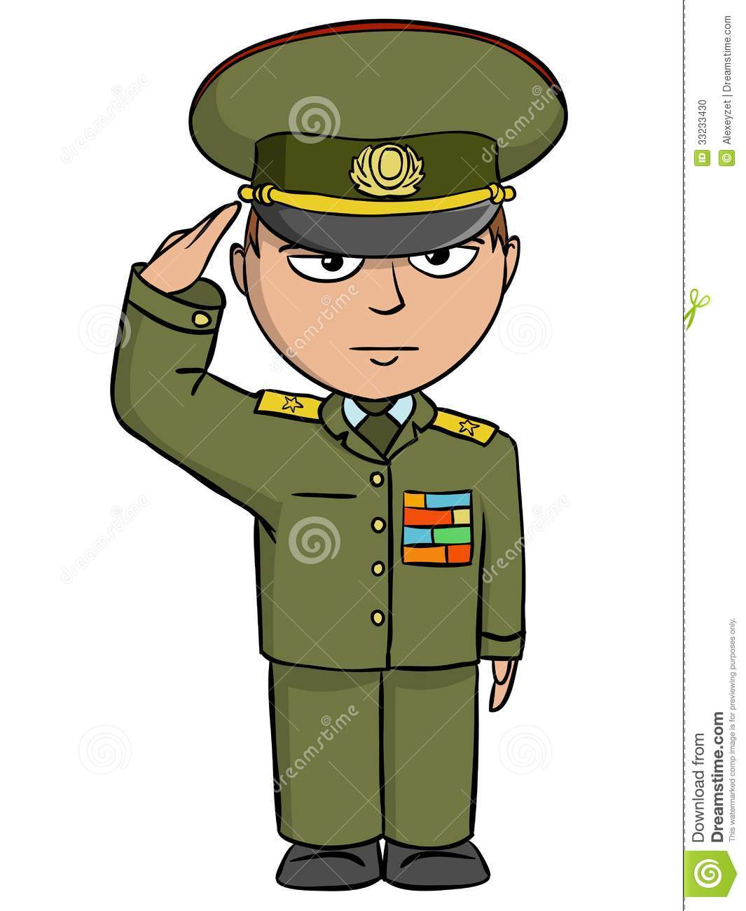 Cartoon clipart army Man military Military Animated Outfit